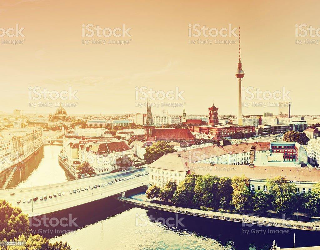 Berlin, Germany view on major landmarks royalty-free stock photo