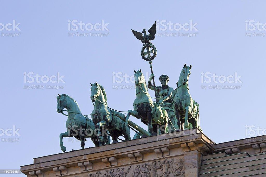 Berlin, GermanyQuadriga stock photo