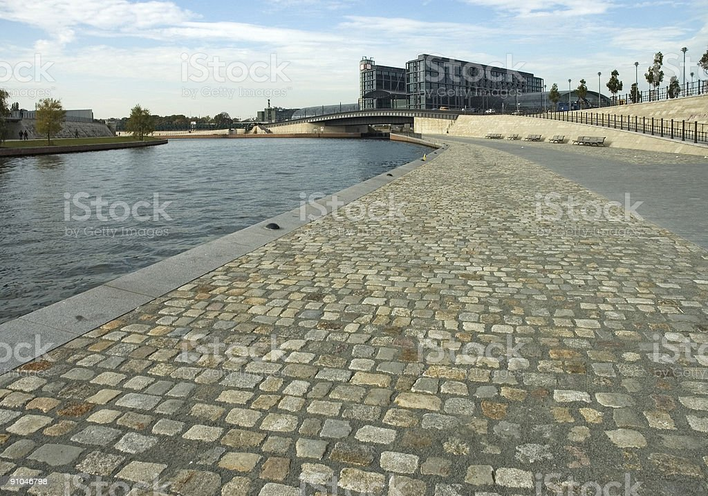 Berlin Government district, 'Hauptbahnhof' royalty-free stock photo