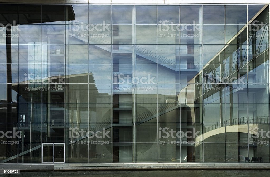 Berlin Government district, Paul-Loebe-Haus royalty-free stock photo