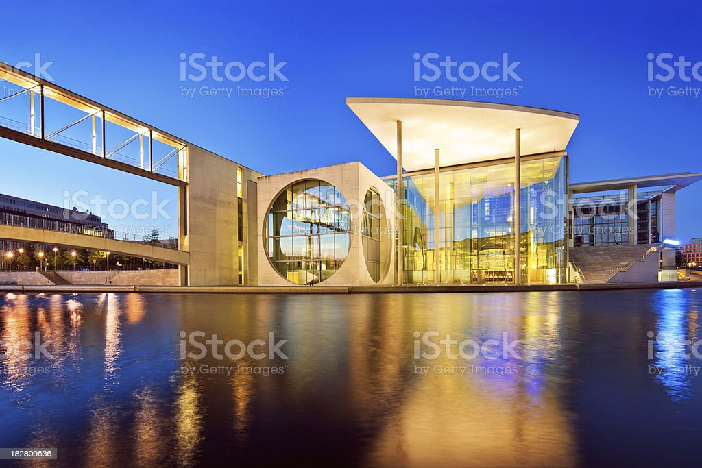 Berlin Government District stock photo