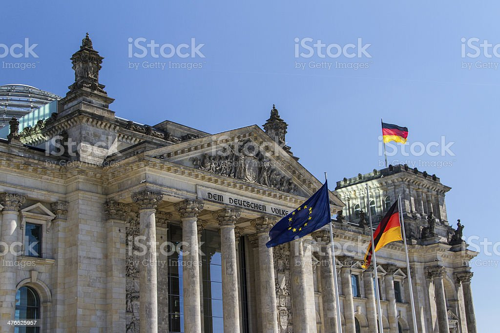 Berlin Government District royalty-free stock photo