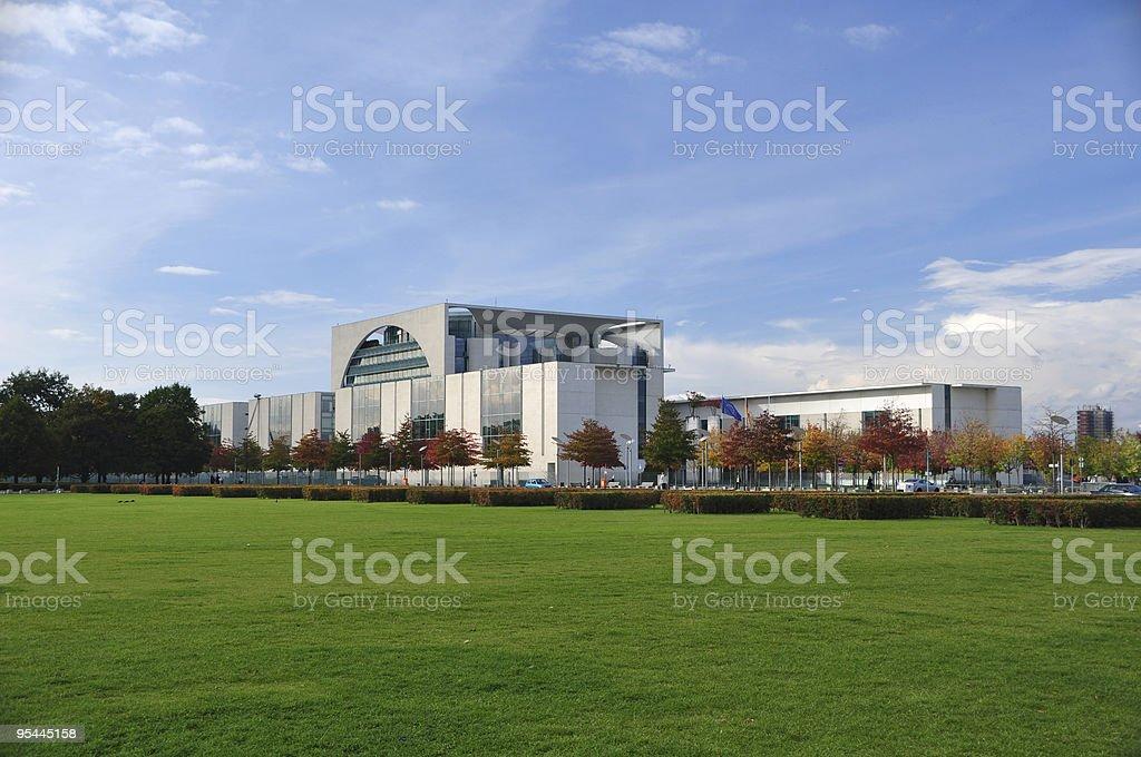 Berlin - Kanzleramt stock photo