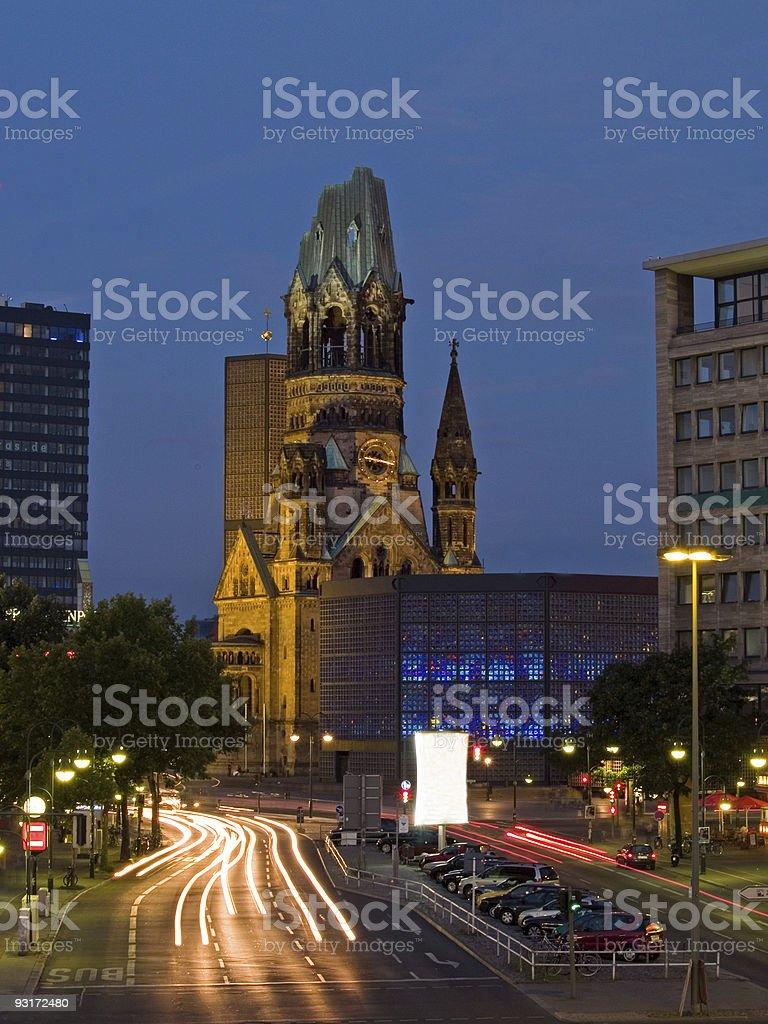Berlin Kudamm stock photo
