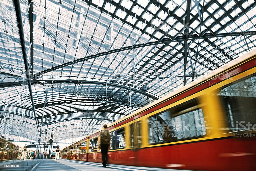 Berlin Metro royalty-free stock photo