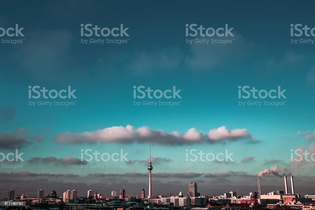 Berlin Middle Landscape stock photo