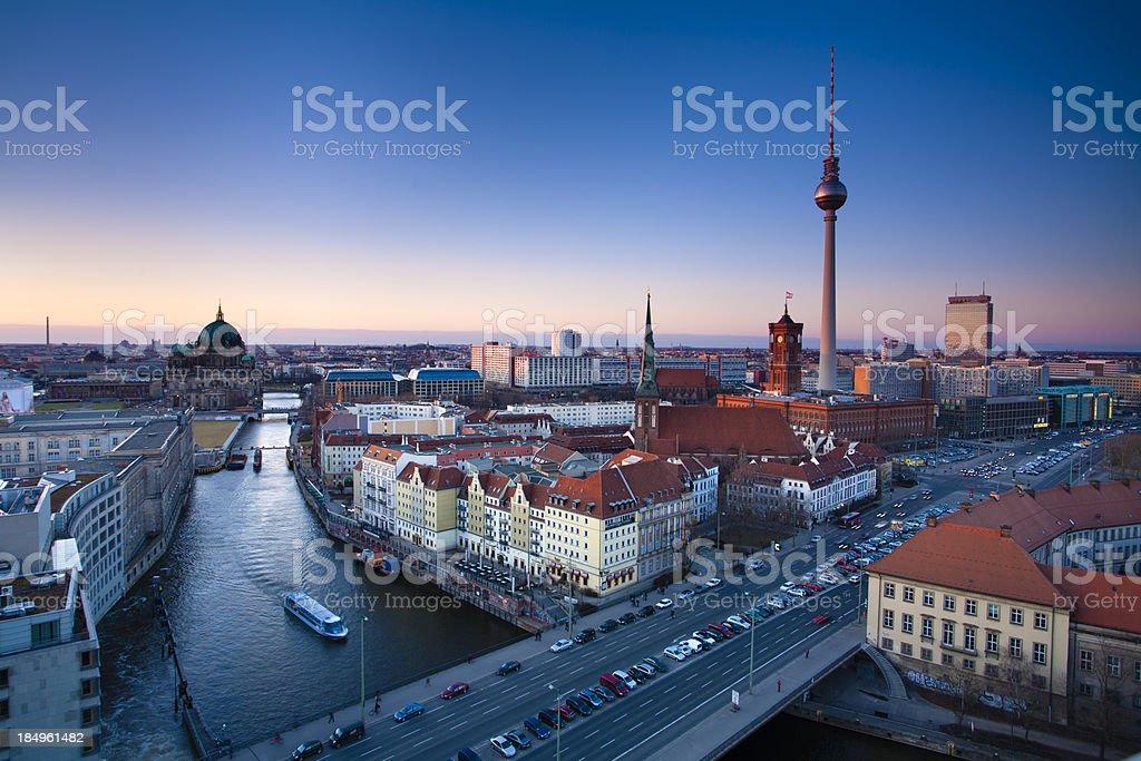 Berlin royalty-free stock photo