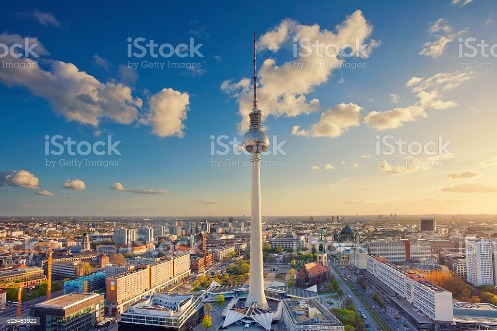 Berlin. stock photo