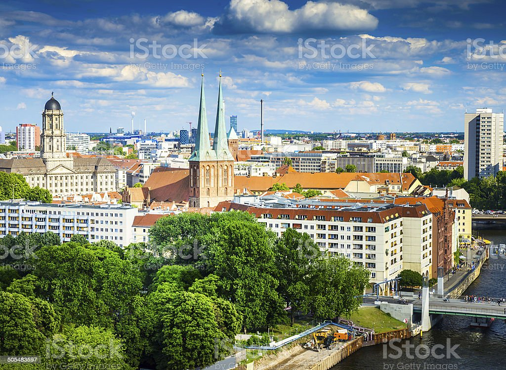 Berlin Potsdam and its surroundings stock photo