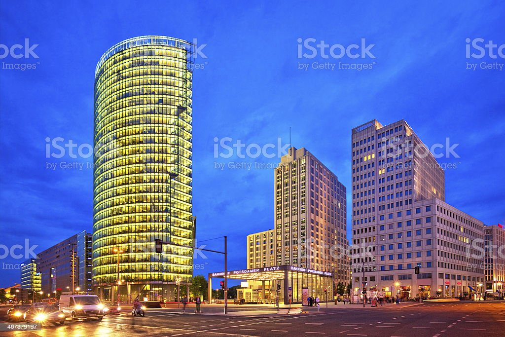 Berlin - Potsdamer Platz royalty-free stock photo