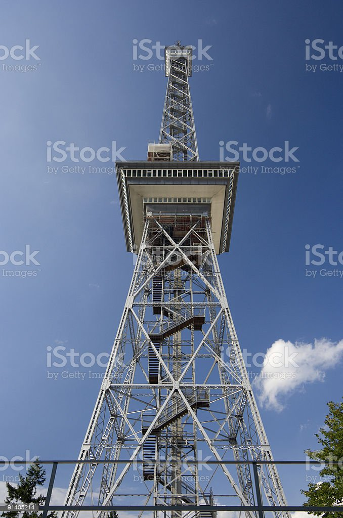 Berlin Funkturm stock photo