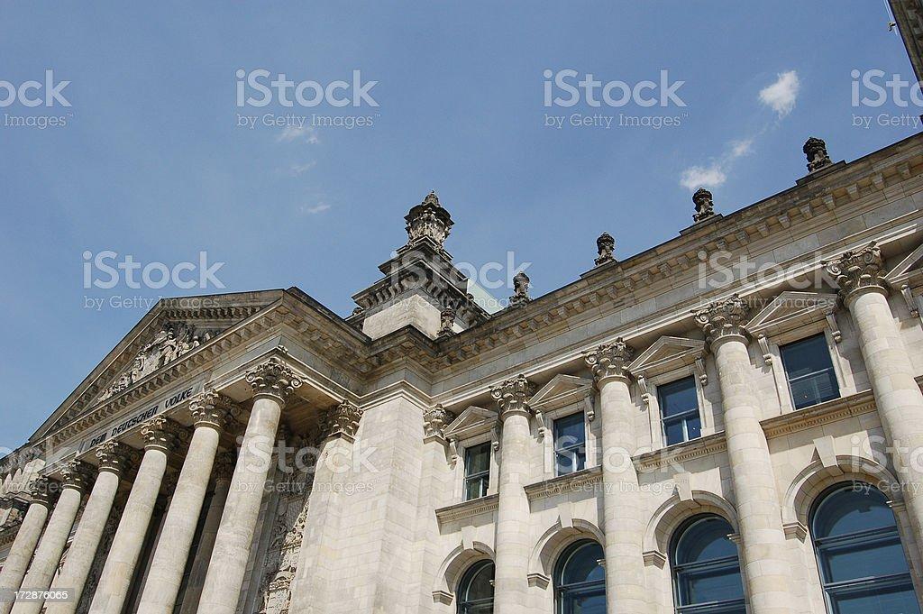 Berlin Reichstag stock photo