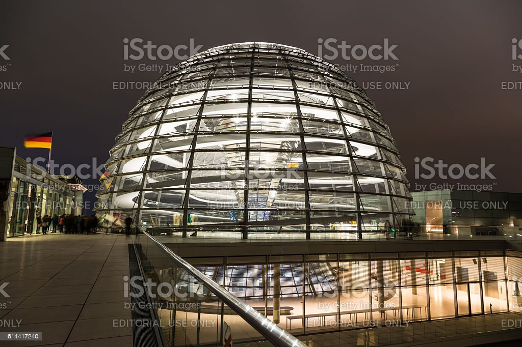 Berliner Reichstag stock photo