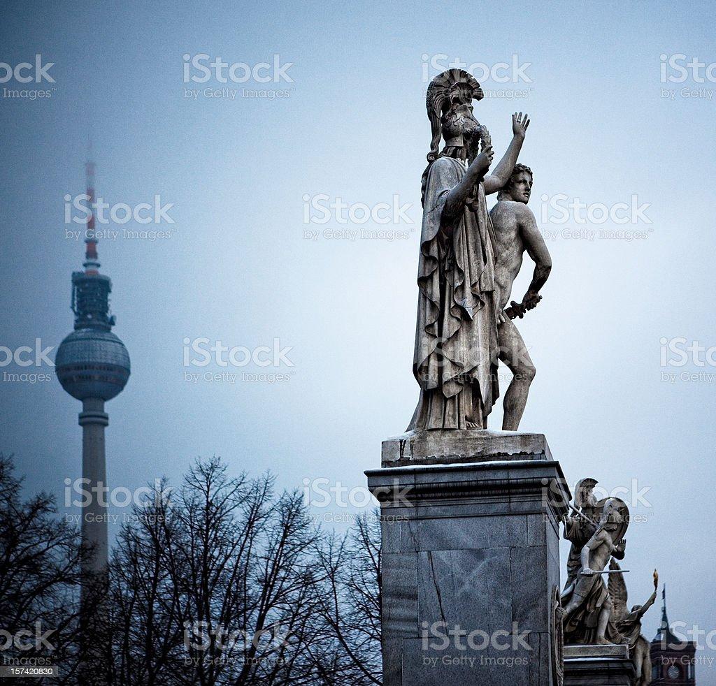 berlin scene royalty-free stock photo