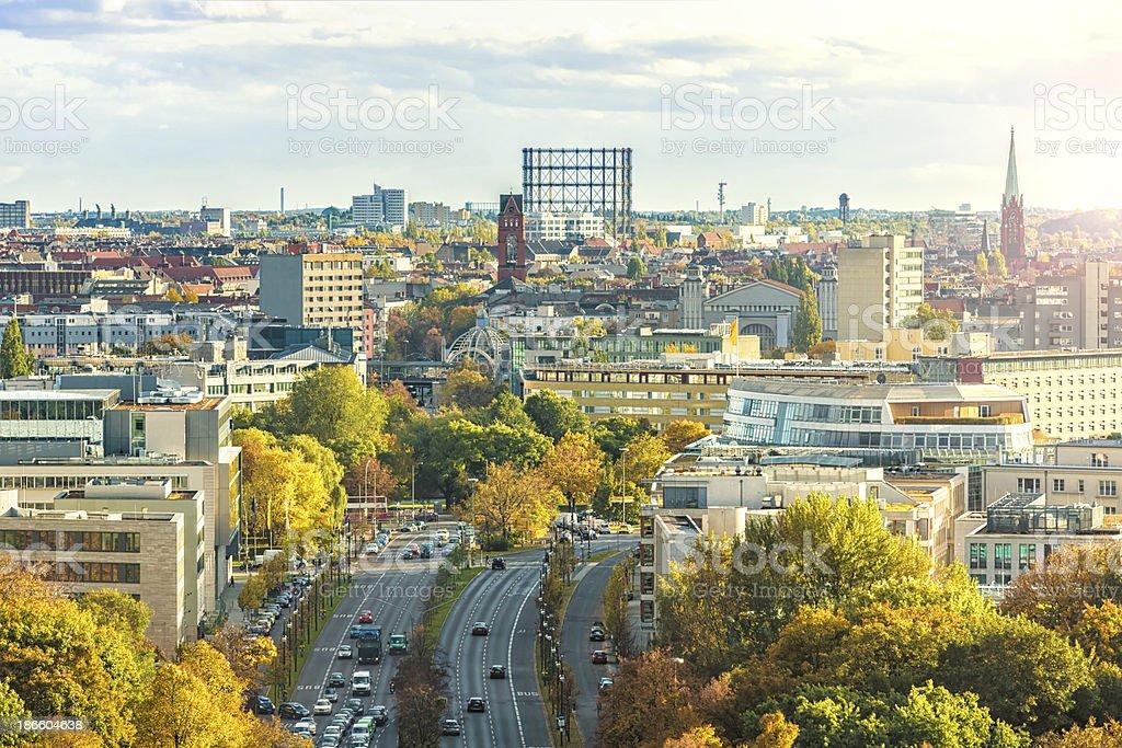 Berlin Schöneberg stock photo