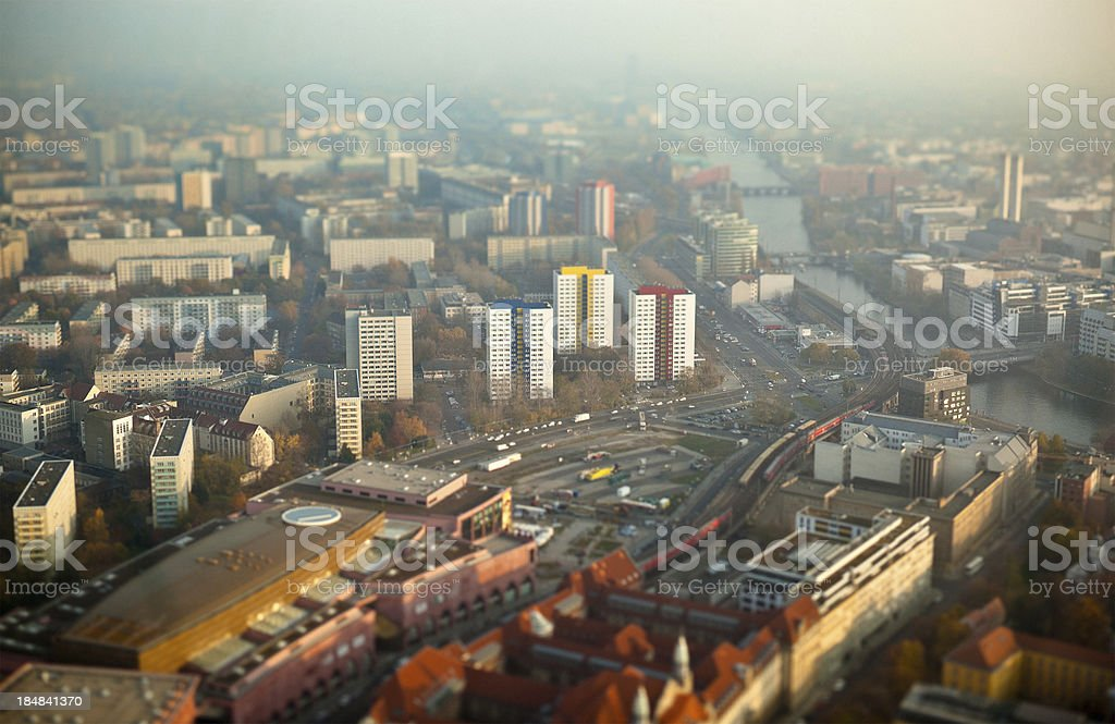 Berlin Seen from Above royalty-free stock photo