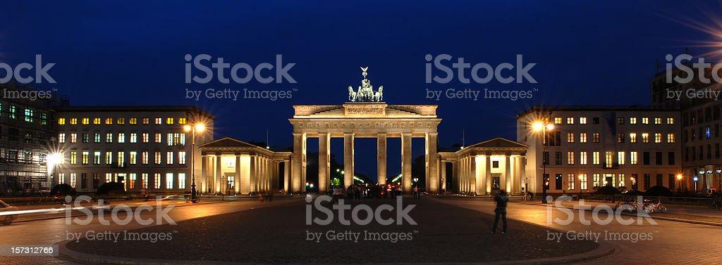 Berlin Series, Brandenburg Gate stock photo
