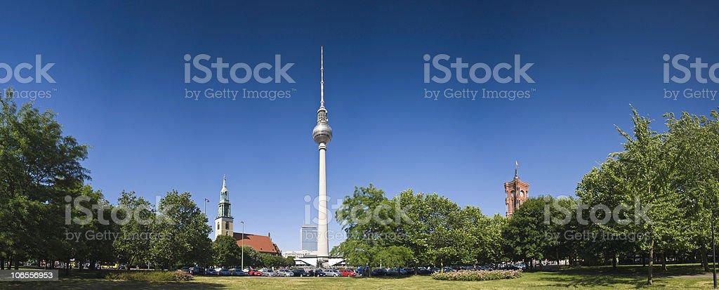 Berlin series stock photo