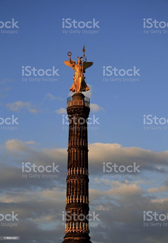 Berlin Siegessäule stock photo