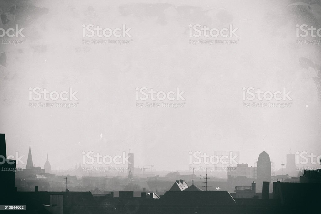 Berlin Skyline stock photo