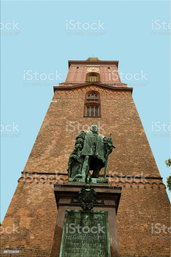 Berlin Spandau, Kurfürst Joachim II stock photo
