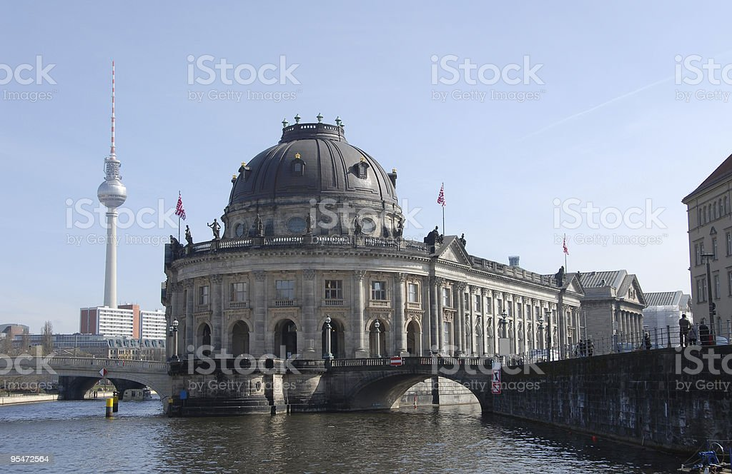Berlin Spree River royalty-free stock photo