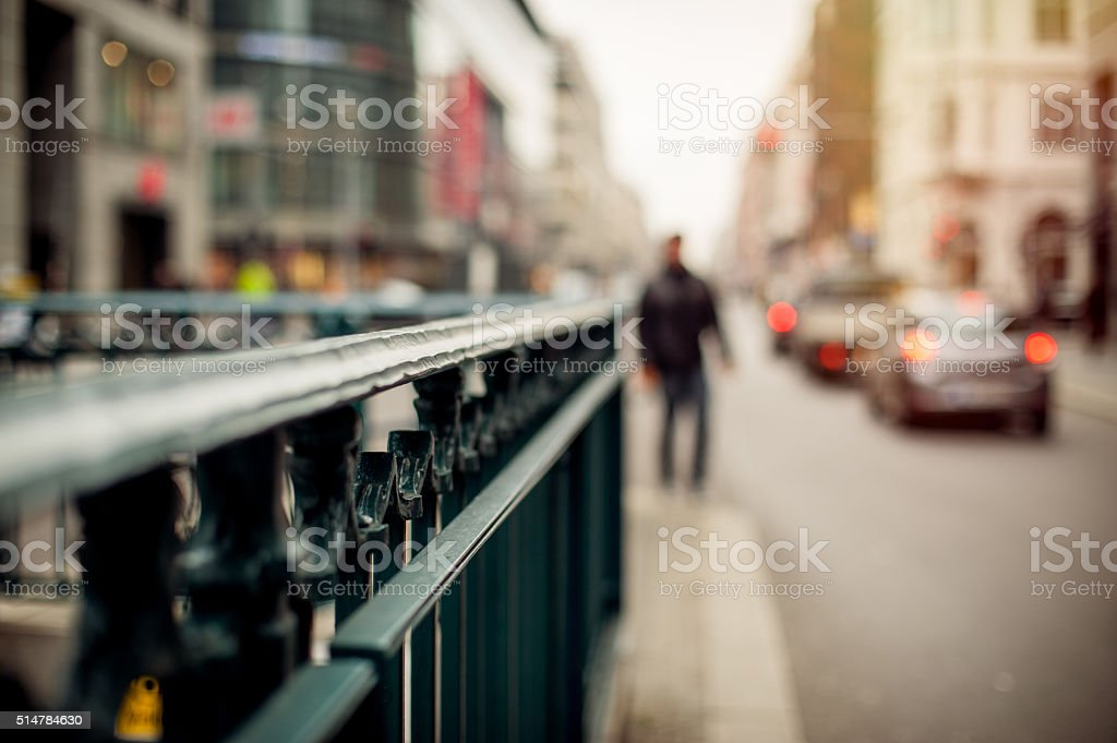 Berlin Street life stock photo