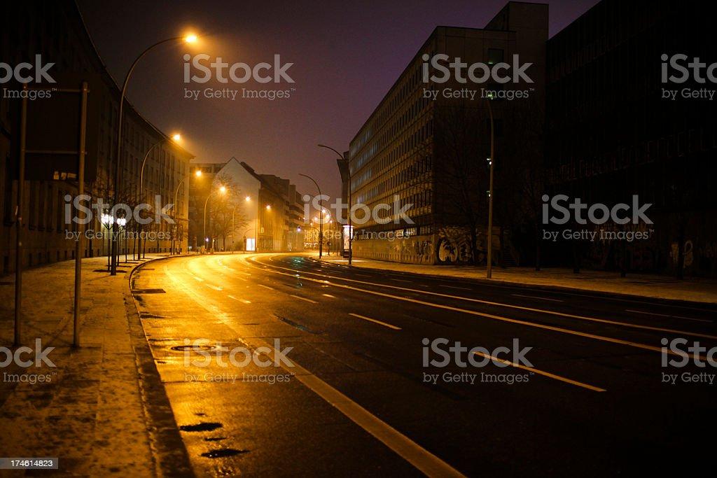 Berlin street royalty-free stock photo