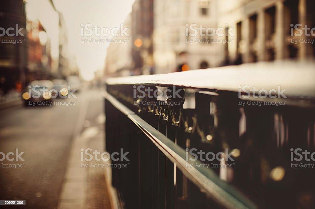 Berlin Street stock photo