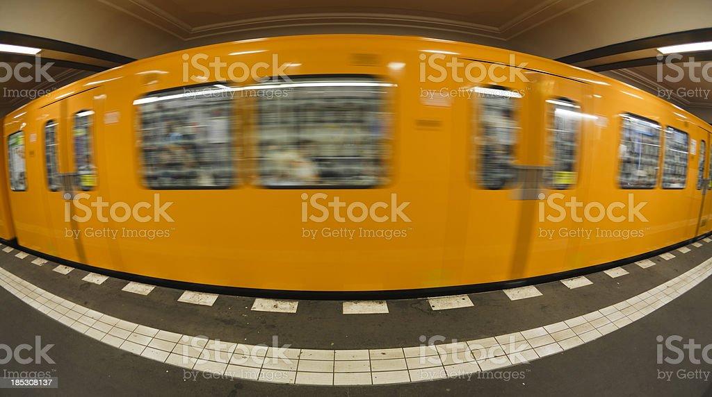 Berlin subway royalty-free stock photo