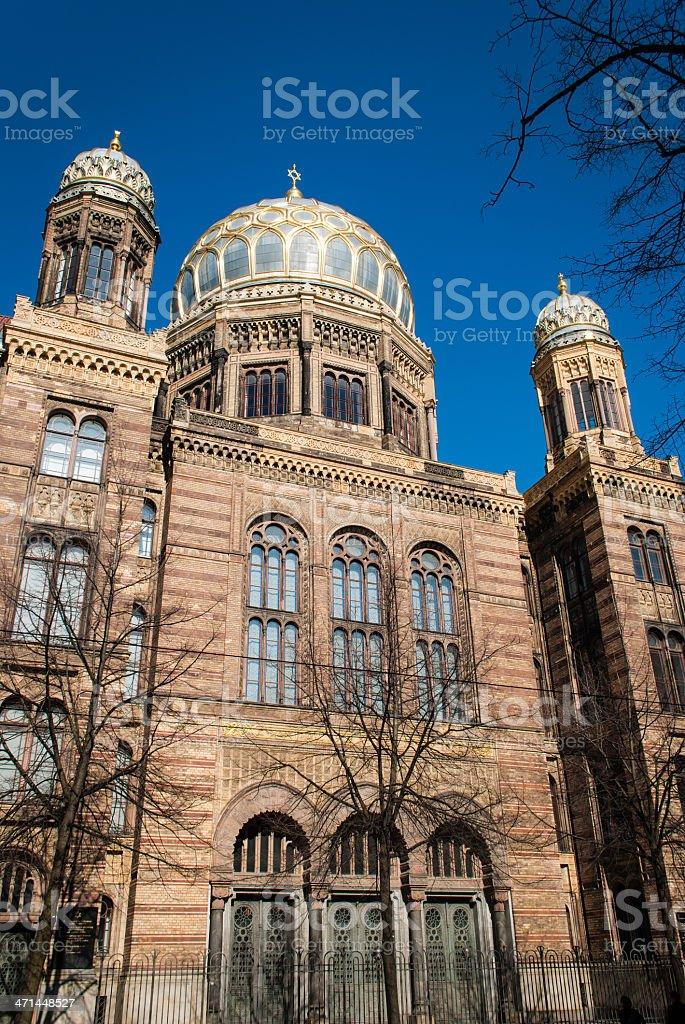 Berlin Synagogue stock photo