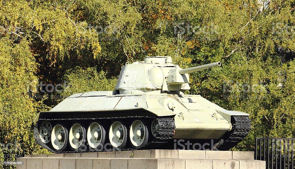 Berlin, Tank stock photo