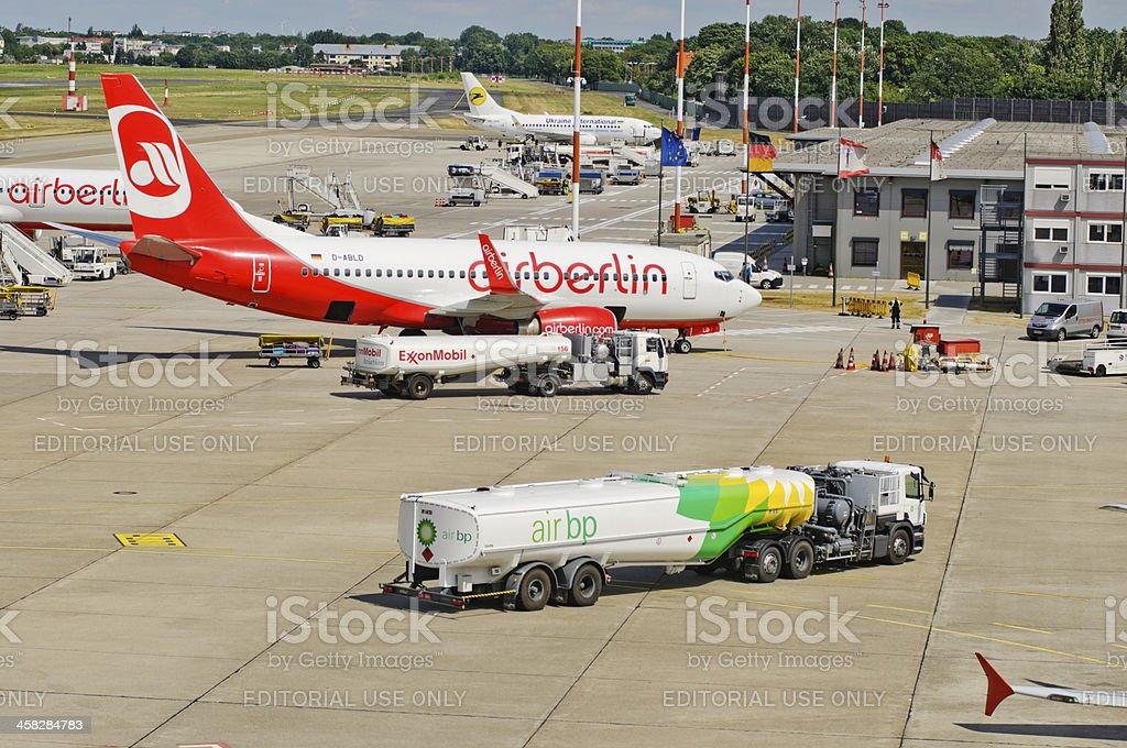 Berlin Tegel Airport stock photo