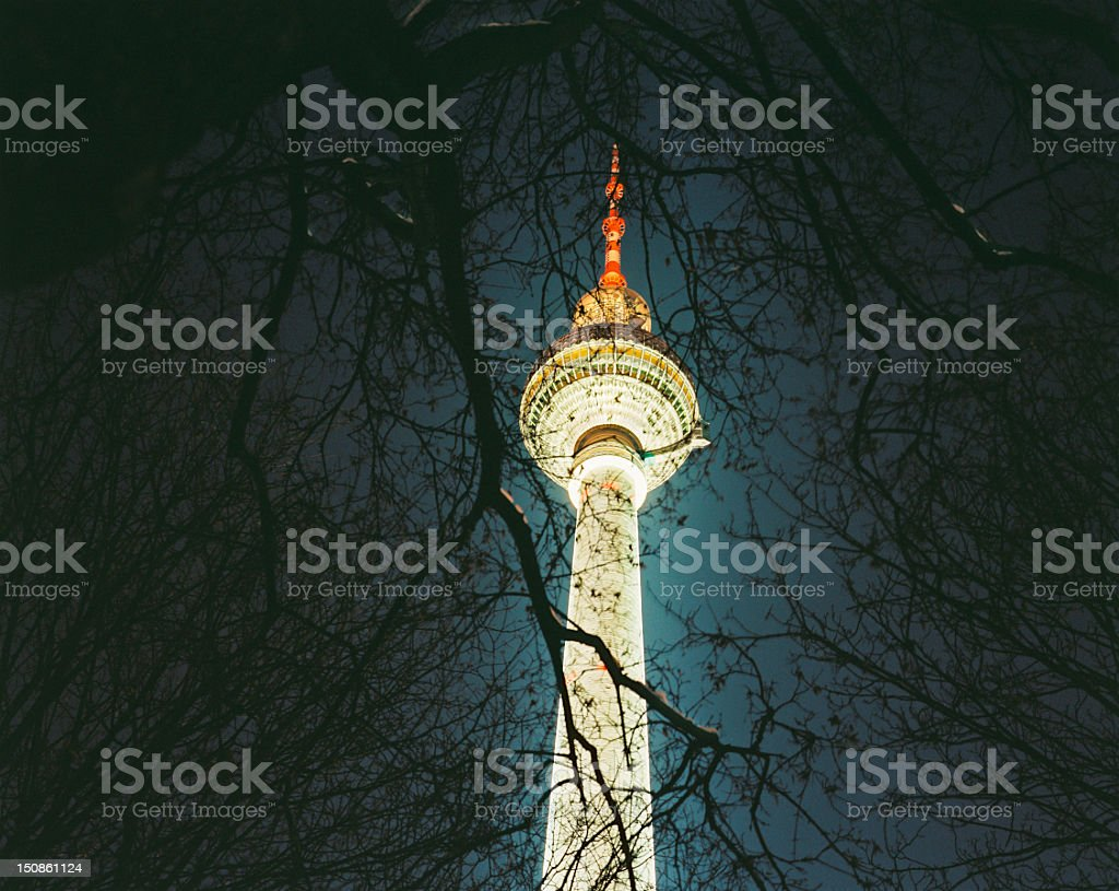 Berlin, Television Tower royalty-free stock photo