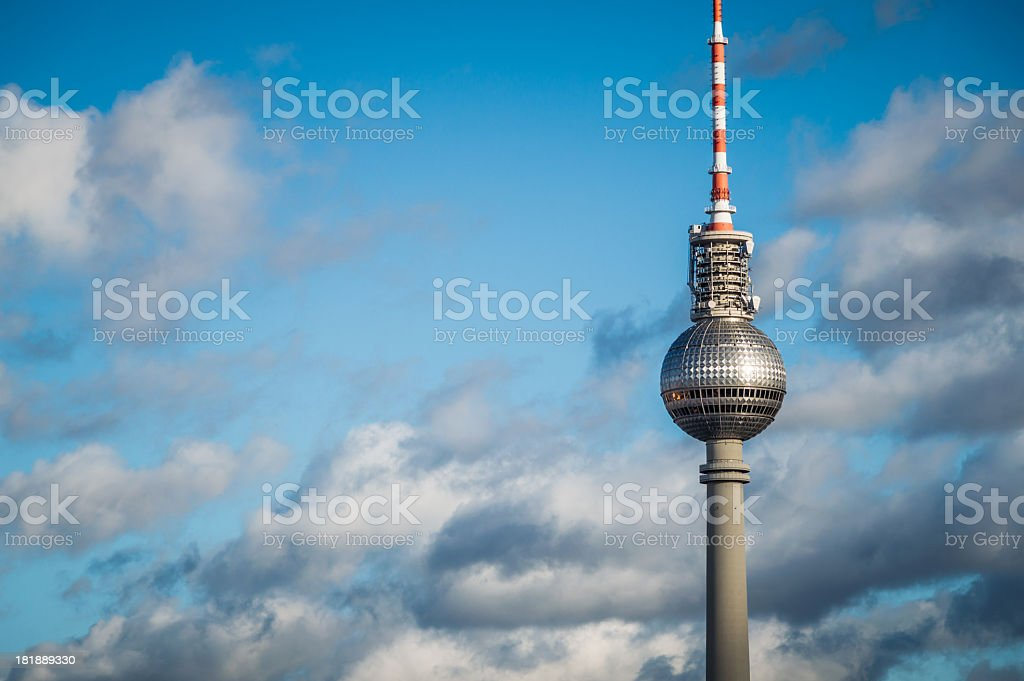 Berlin Television Tower stock photo
