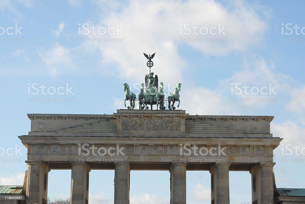 berlin tor stock photo