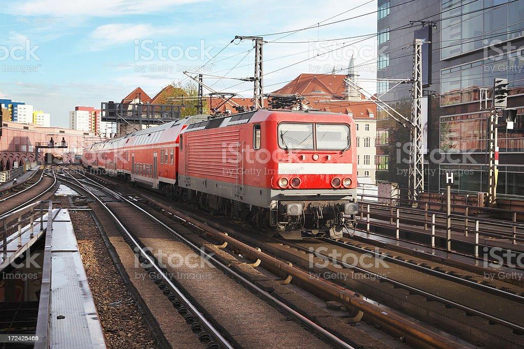 Berlin train royalty-free stock photo