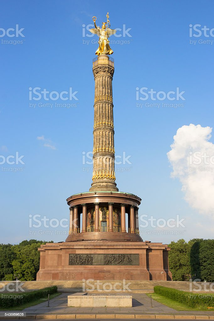Berlin Victory Coloumn stock photo