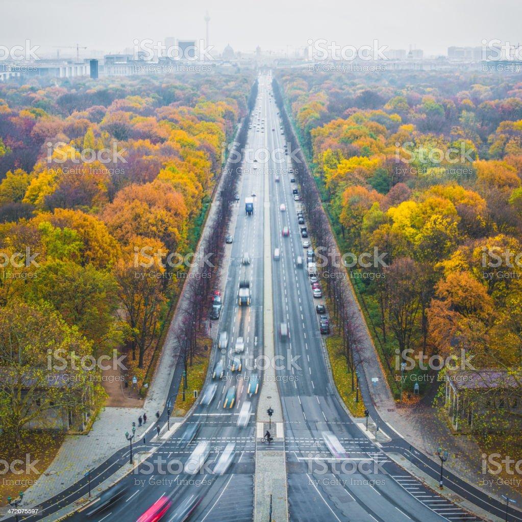 Berlin view stock photo