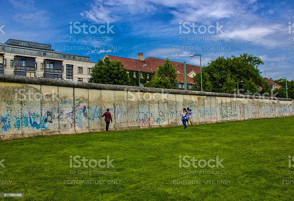 Berlin Wall in Berlin, Germany stock photo