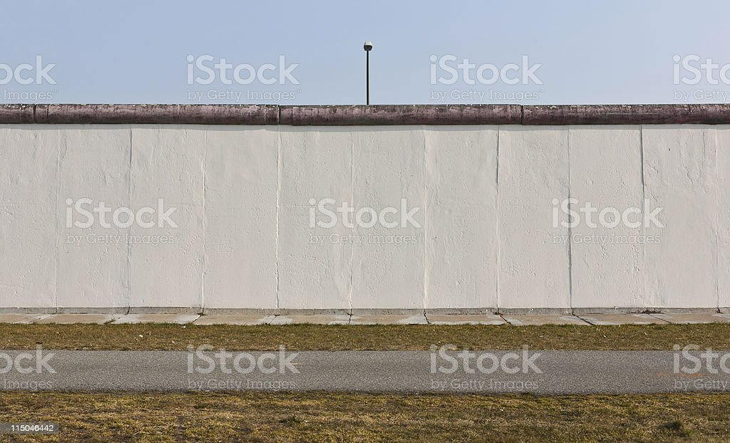 berlin wall stock photo
