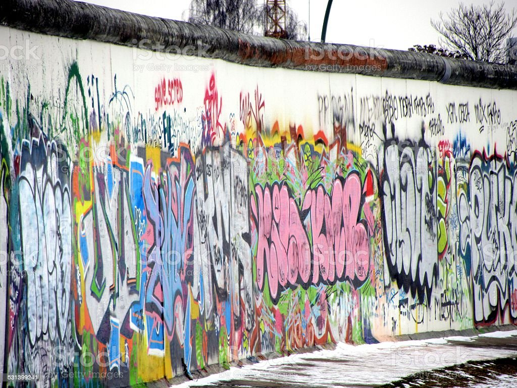Berlin Wall stock photo