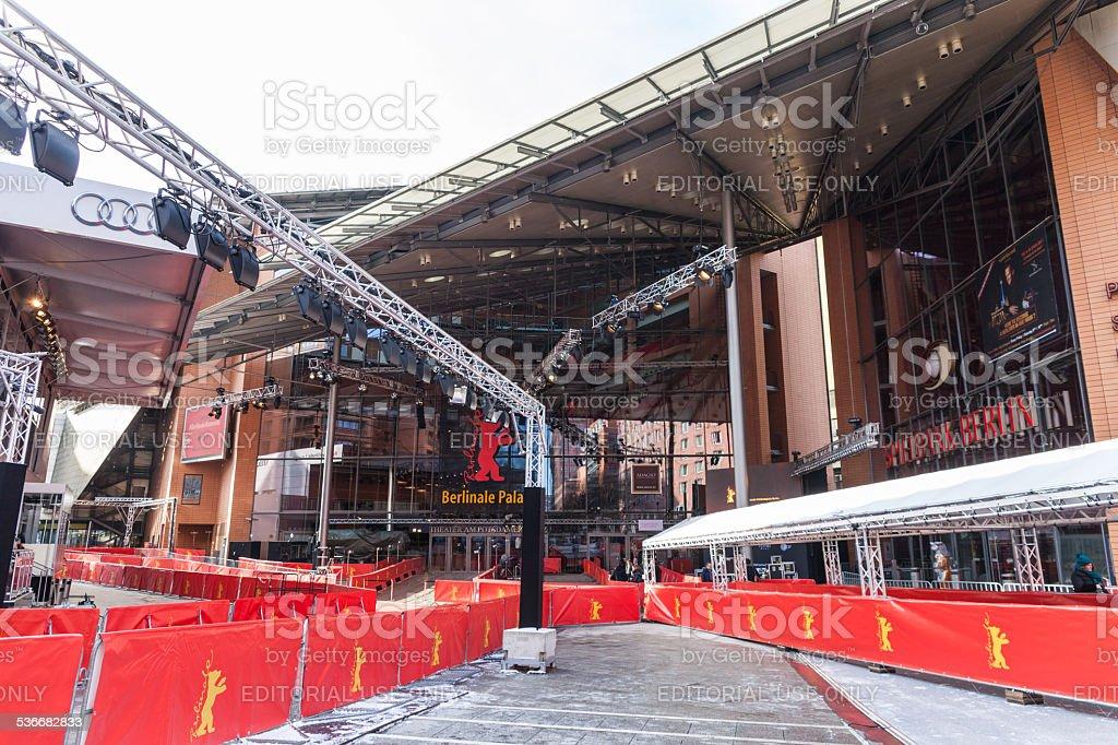 Berlinale Film Festival 2015 stock photo