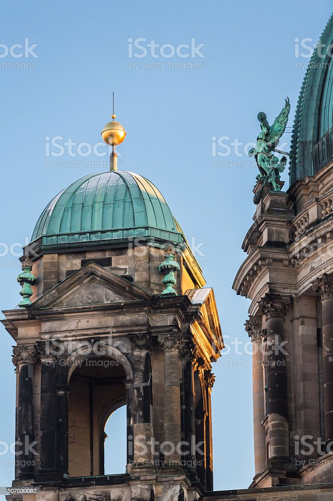 Berliner Dom Cathedral church in Berlin, Germany. stock photo