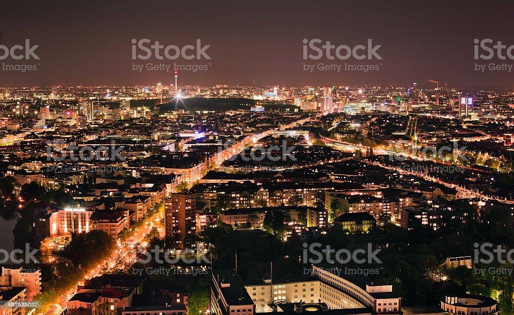 Berliner Skyline stock photo