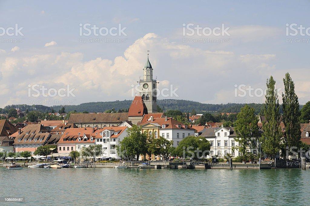 ?berlingen in Summer Lake Constance stock photo