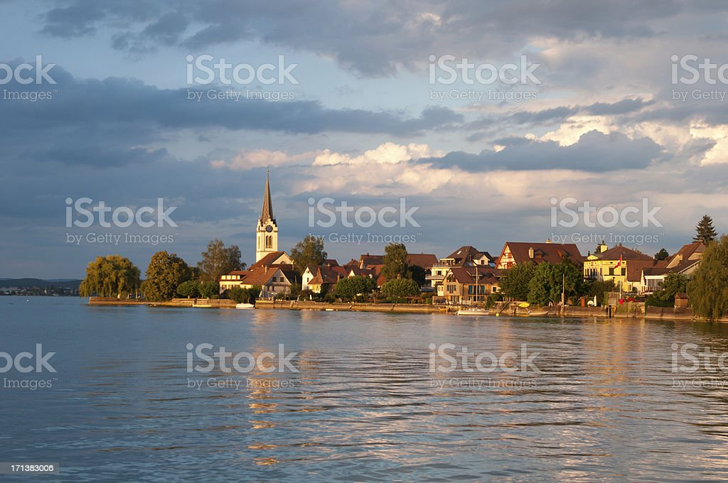 Berlingen stock photo