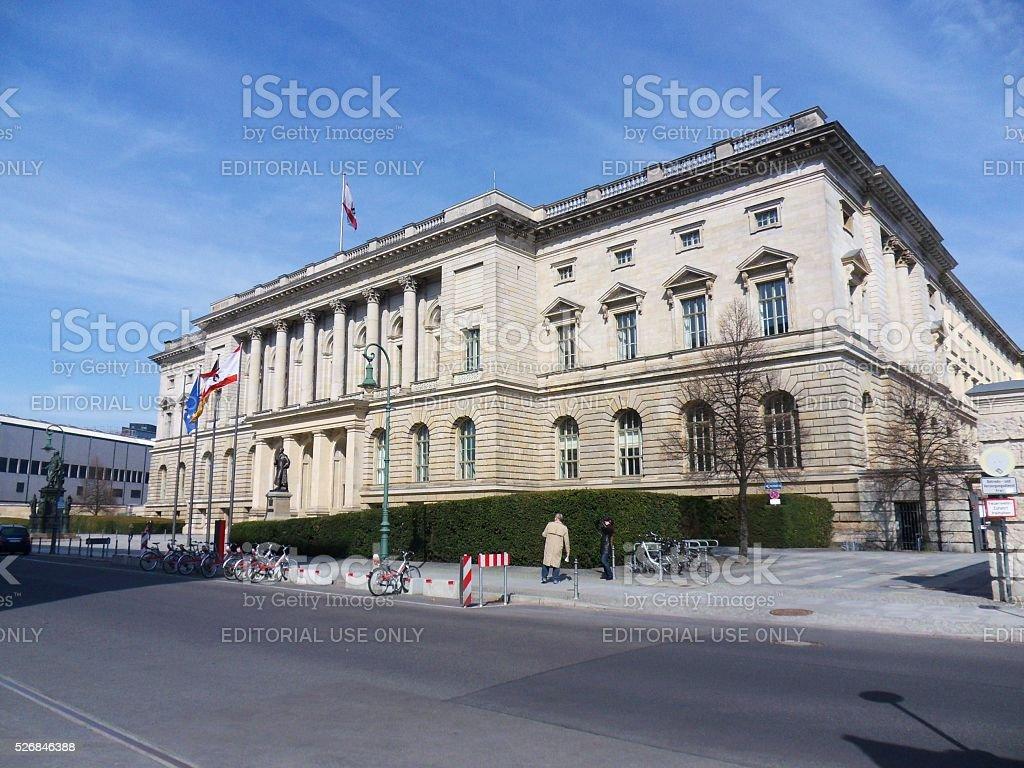 Berlino - Camera dei Rappresentanti stock photo