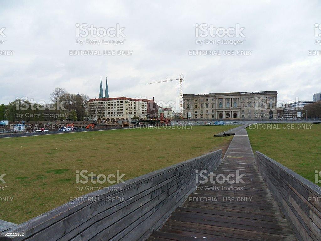 Berlino - Piazza del Castello stock photo