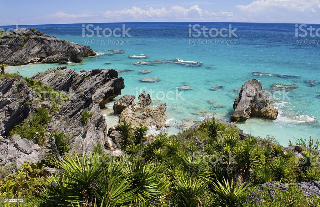 Bermuda Coast stock photo